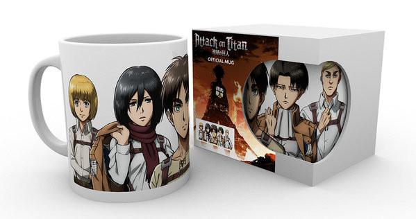 Attack on Titan (Shingeki no kyojin) - Lineup bögre