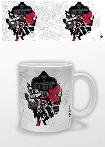 Csésze Az acélember - Destruction