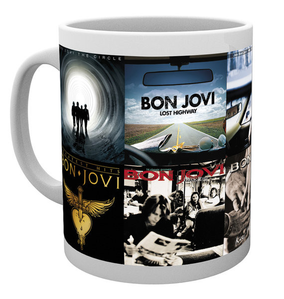Bon Jovi - Albums bögre