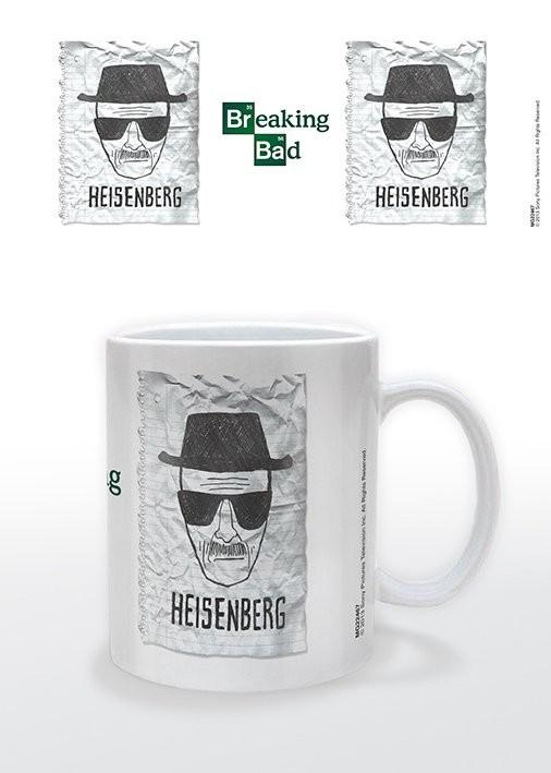 Breaking Bad (Totál Szívás) - Heisenberg Wanted bögre