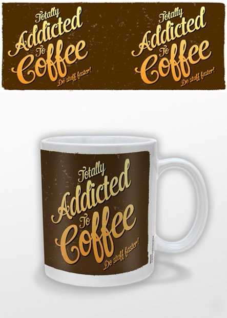 Coffee Addict bögre