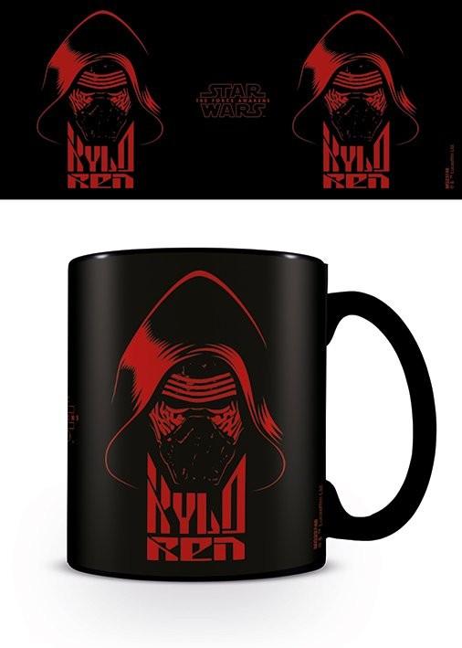 Csillagok háborúja VII (Star Wars: Az ébredő Erő) - Kylo Ren Black  bögre