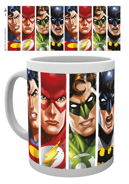 DC Comics - Justice League Faces bögre