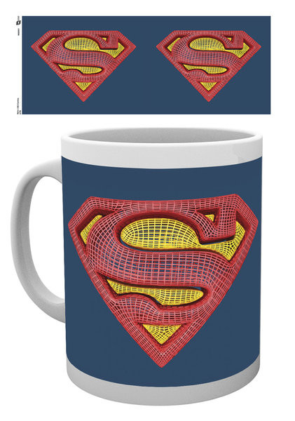 DC Comics - Superman Mesh Logo bögre