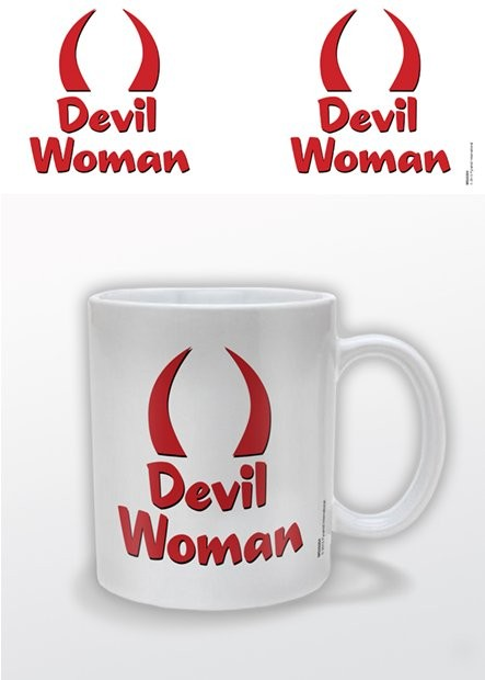 Devil Woman bögre