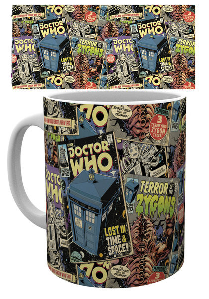 Doctor Who - Comic Books bögre