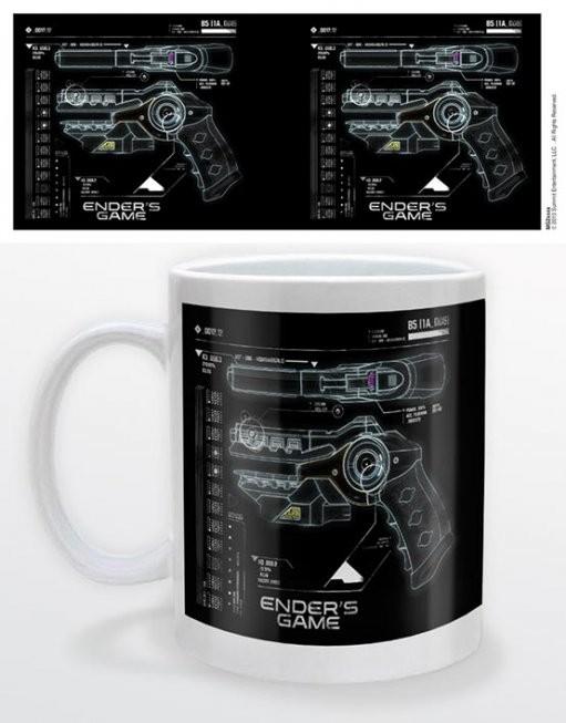 Ender's game - gun bögre