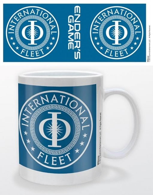 Ender's game - international fleet bögre