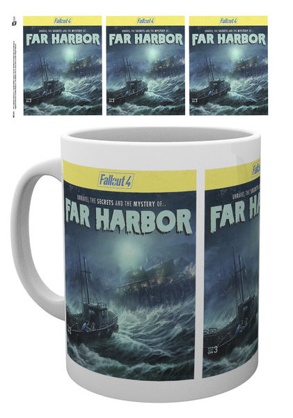 Fallout 4 - Far Harbor bögre