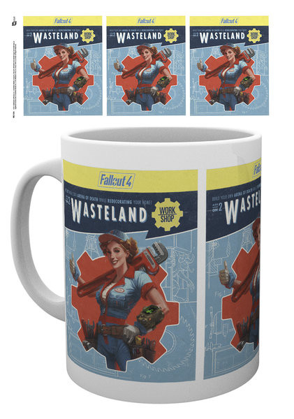 Fallout 4 - wasteland bögre