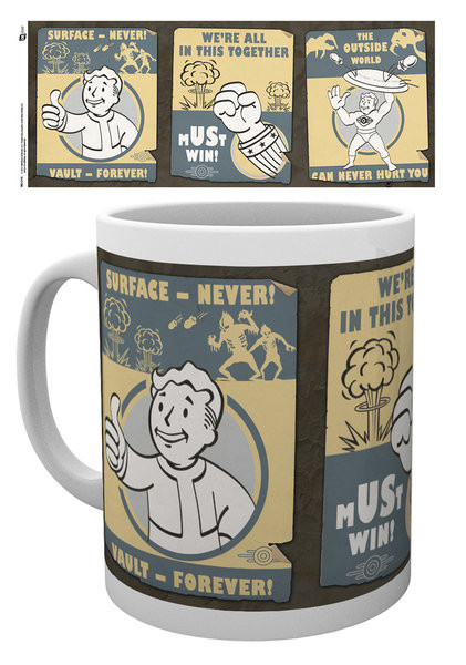 Fallout - Vault posters bögre