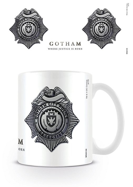 Gotham - GCPD Badge bögre