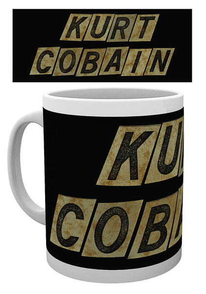 Kurt Cobain - Name bögre
