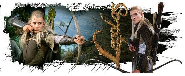 Lord of the Rings - Legolas bögre