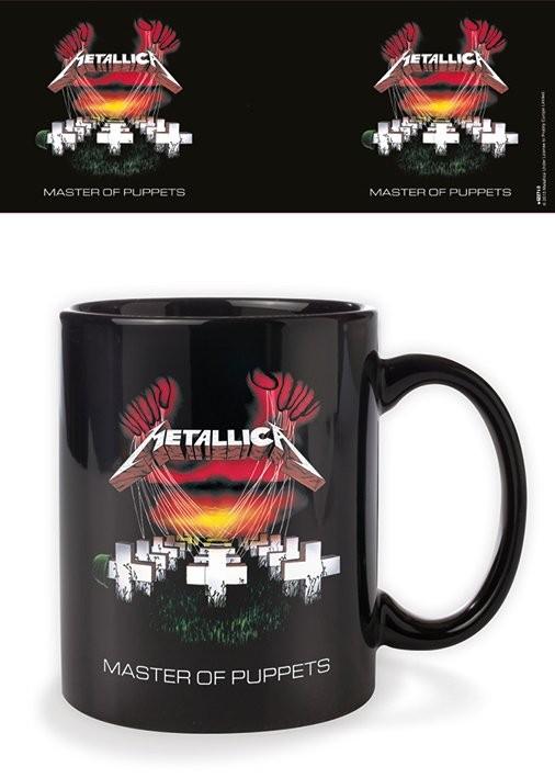 Metallica - Master of Puppets bögre