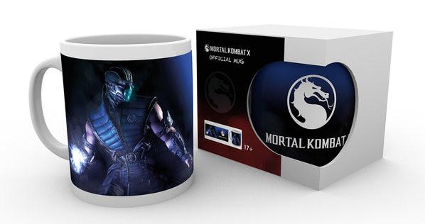 Mortal Kombat X - Sub Zero bögre