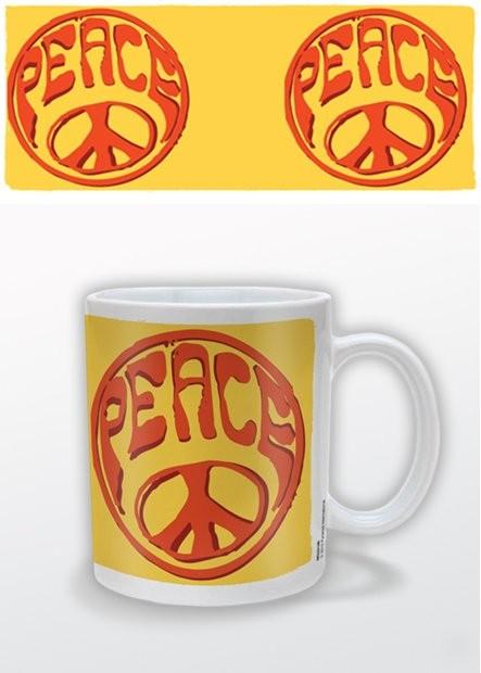 Peace bögre