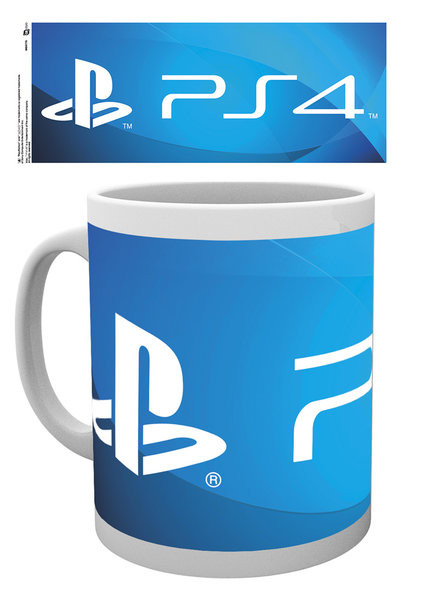 Playstation - PS4 Logo bögre