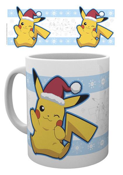 Pokemon - Pikachu Santa bögre