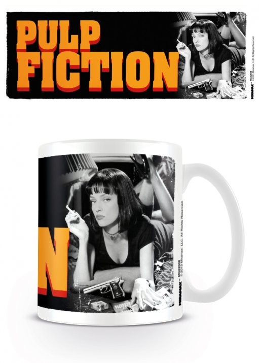 Pulp Fiction - Mia, Uma Thurman bögre