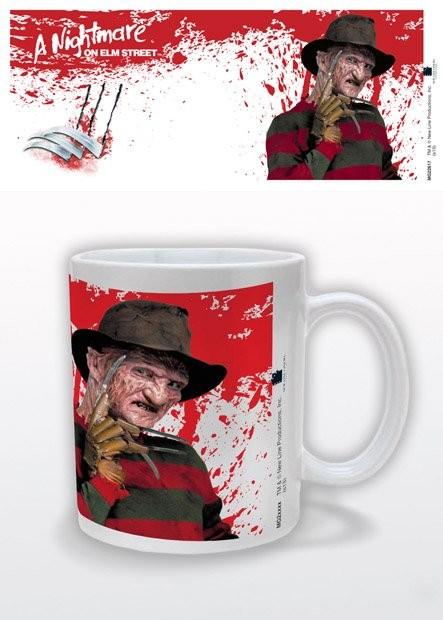 Rémálom az Elm utcában - Freddy Krueger bögre