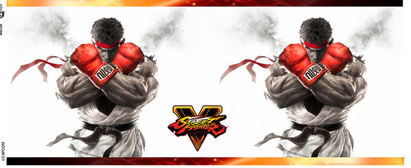 Street Fighter 5 - Key Art bögre