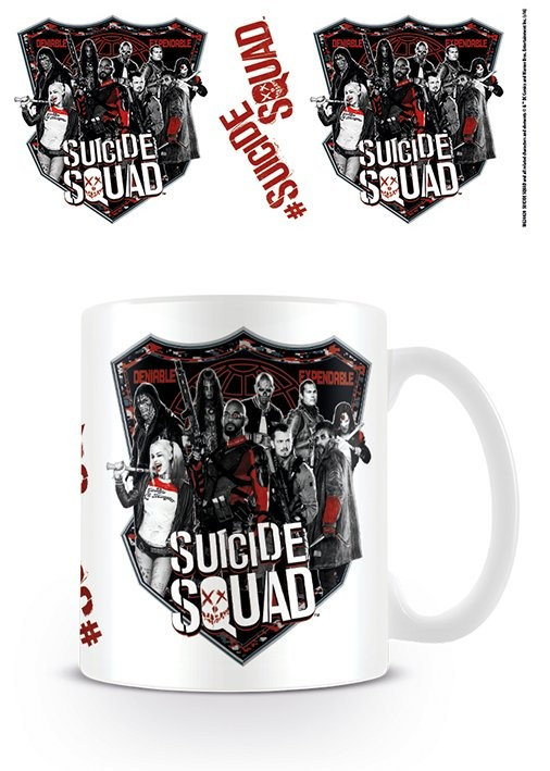Suicide Squad – Öngyilkos osztag  - Deniable Expendable bögre