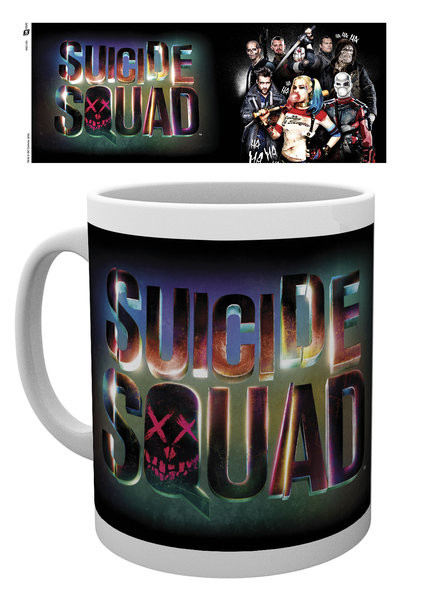 Suicide Squad – Öngyilkos osztag  - Logo bögre