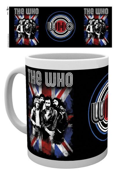 The Who - Flag bögre