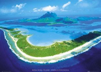Bora Bora - плакат (poster)
