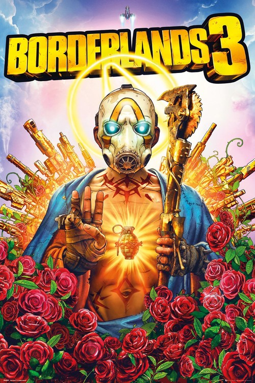 Αφίσα  Borderlands 3 - Cover