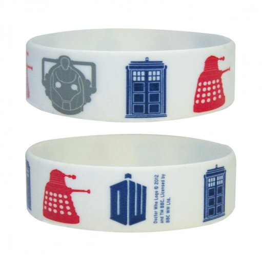 DOCTOR WHO - icons Braccialetti in silicone
