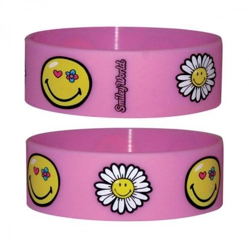 SMILEY - flowers Bransoletka