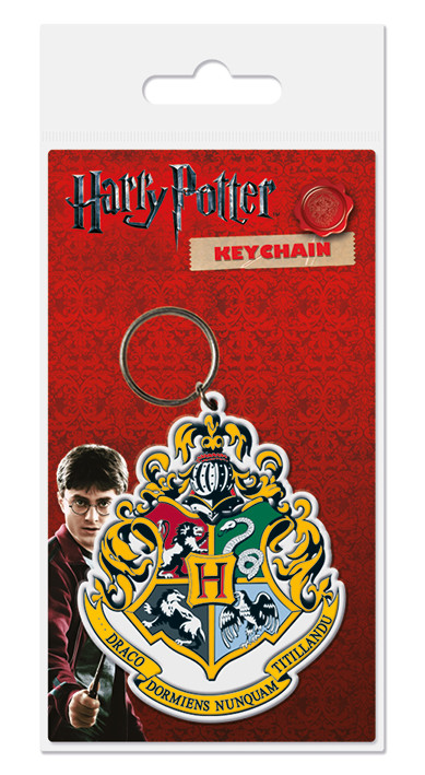 Harry Potter - Hogwarts Crest Breloc
