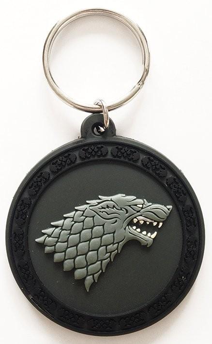 Gra o tron - Game of Thrones - Stark Breloczek