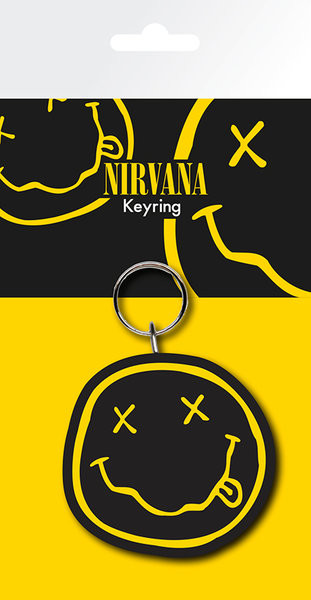Nirvana - Smiley Breloczek