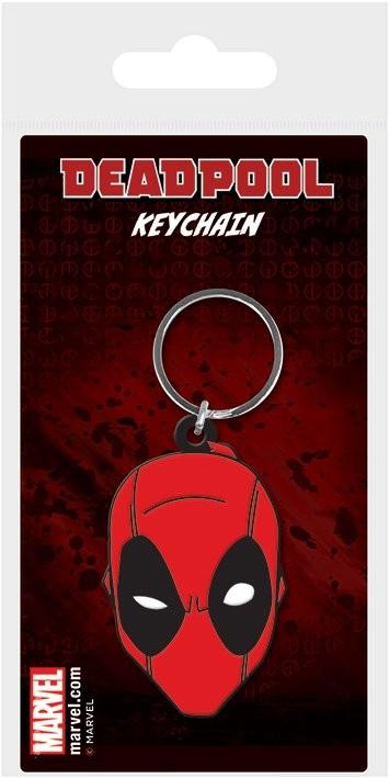 Breloczek Deadpool - Face