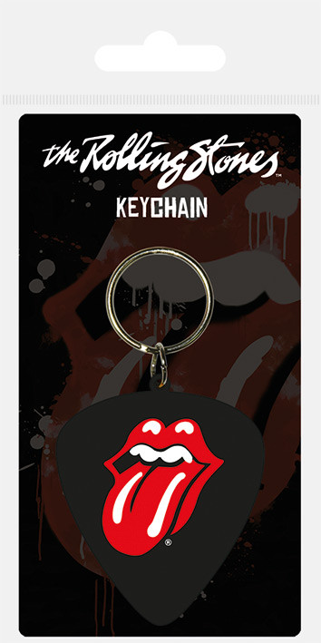Breloczek Rolling Stones - Plectrum