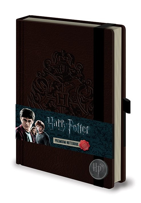 Harry Potter - Hogwart's Crest Premium A5 Notebook Brevpapper