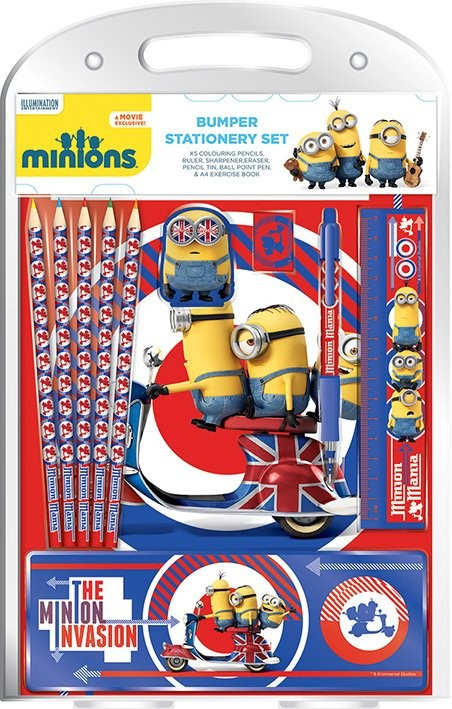 Minions - British Mod Bumper Stationery Set  Brevpapper