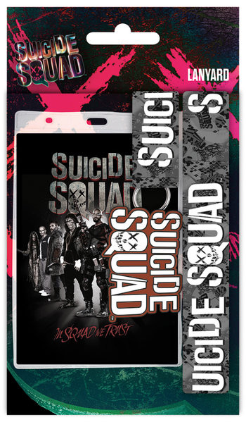 Suicide Squad- Squad Brevpapper