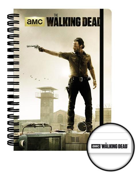 The Walking Dead - Prison A5 Notebook Brevpapper