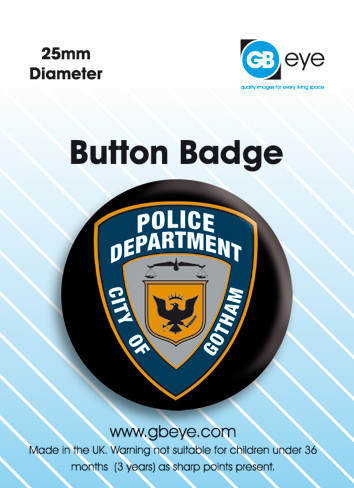 BATMAN POLICE button