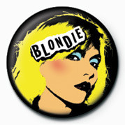 BLONDIE (PUNK) button