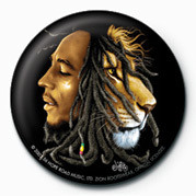 BOB MARLEY - jurek button