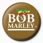 BOB MARLEY - logo button