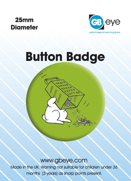 BUNNY SUICIDES - Grater button