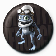 Crazy Frog button
