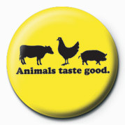 D&G (Animals Taste Good) button