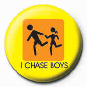 D&G (I CHASE BOYS) button
